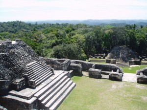 Mayan Temple Belize