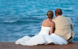 Belize Wedding Couple Ambergis Caye